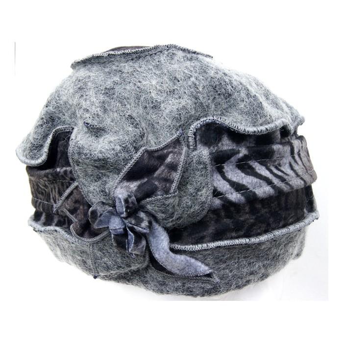 Mütze schwarz - grau