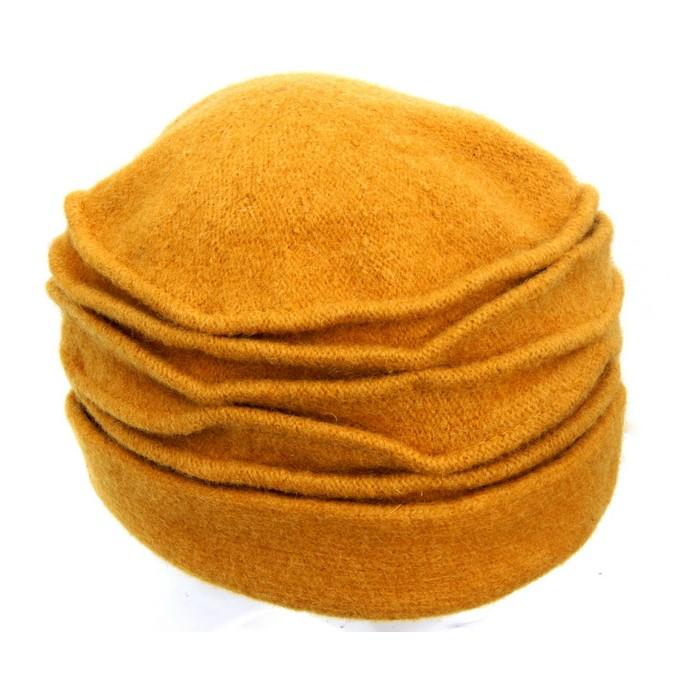 Mütze Curry, gefaltet