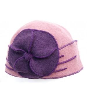 Damen Mütze, Blume...