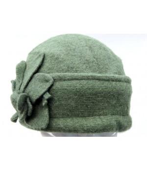 Damen Mütze, dunkel Grün...