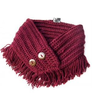 Wolle  Schal- Kragen
