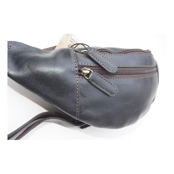 Bauch-Gürtel Tasche im Glatt Leder