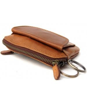 Eine Echt Leder Schlüssel Mäppchen