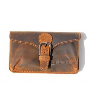 Gürtel Tasche aus Voll Leder