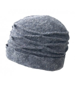 Mütze grau, gefaltet. Bestseller Farbe 2020