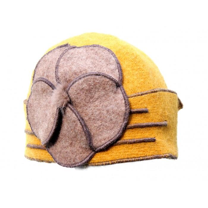 Mütze, Blume 30 Jahre Retro, schöne Kopf Form