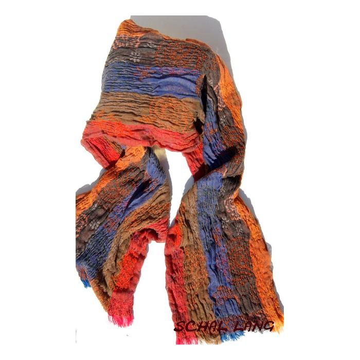 Stretch Schal, flauschig weich, herbstliche Töne