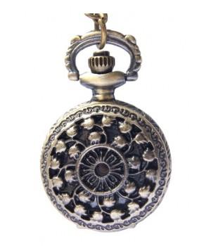 Amulett Vintage Halsketten Uhr
