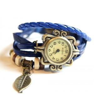 Vintage Armbanduhr Blau