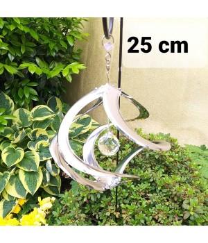 KLEINES WINDSPIEL 25 cm, rund