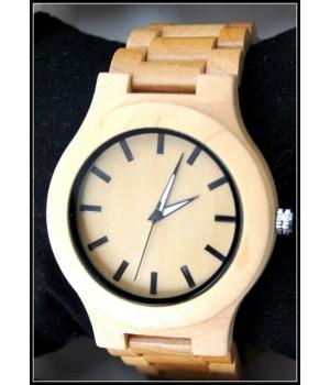 Bambus Holz Uhr