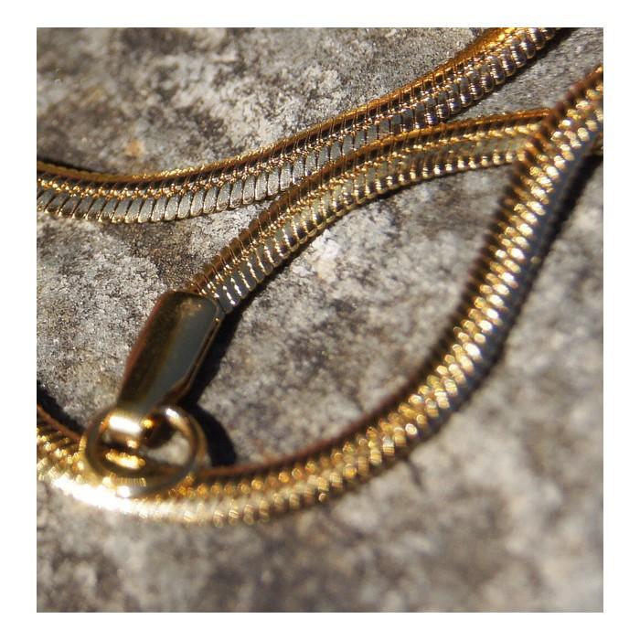 Fein gegliederte  Goldkette