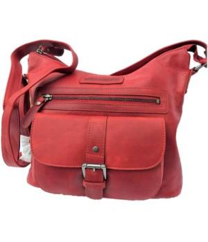 Vollleder Schulter Tasche