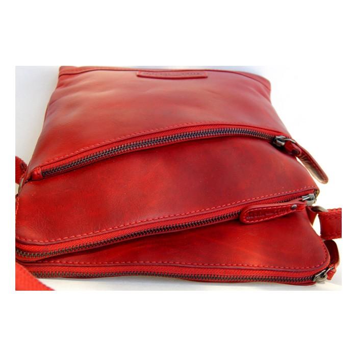 Rote praktische Handtasche